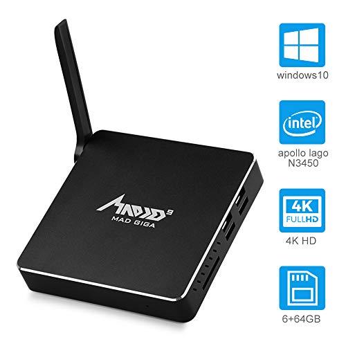 MAD GIGA AP34 Pro Fanless Mini PC, DDR3 6 GB / 64 GB