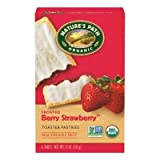 Natures Path Frosted Strawberry Toaster Pastry 11 Oz (Pack of 12) - Pack Of 12