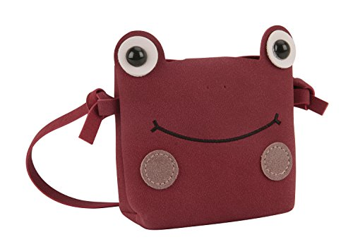 Handbags Small Cell Design Lovely Wallet Toddlers 2 Purse Holder Bags 8 Clutch Phone Kids Red Crossbody Great Shoulder Birthday for Gift Frog Case Christmas Yrs Candies Mini zA8vpwq