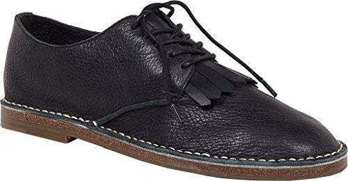Ellen Oxford ED Degeneres Black Women's Kayleigh Leather Kiltie gTdw4