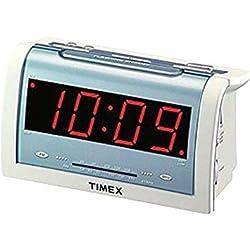 Timex T256W Jumbo 1.4 LED Alarm Clock Radio