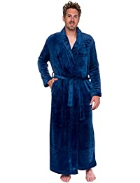 ede12fefb0 Mens Long Robe - Full Length Big   Tall Bathrobe