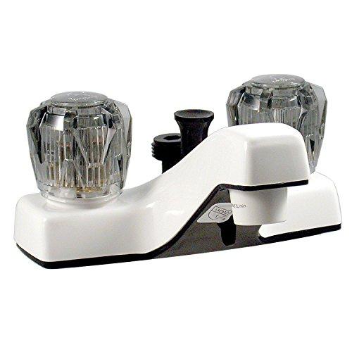Phoenix PF212242 Lavatory Shower Faucet, White, 4
