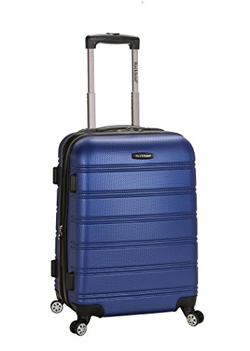 Rockland Luggage Melbourne 20 Inch Expandable Carry On Blue One Size
