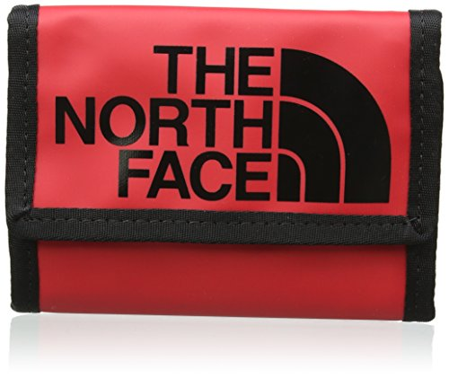The North Face Base Camp Wallet One Size TNF Red TNF Black