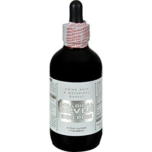 Silver Colloidal 500ppm 4 oz. ( Multi-Pack)