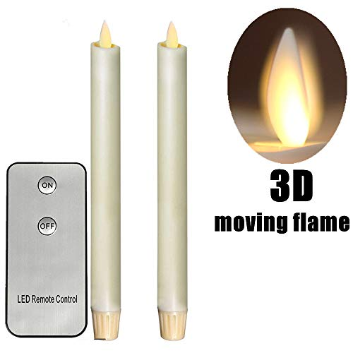 2PCS Flameless 8