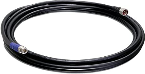 TRENDnet N-Type Cable - Cable coaxial Negro: Amazon.es ...