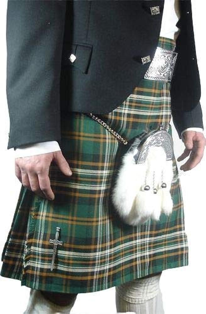 De para hombre Heritage de Irlanda poliviscosa 8 yardas para falda ...