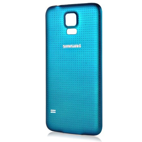 Generic Battery Door Back Cover Case Housing for Samsung Galaxy S5 G900 - Blue