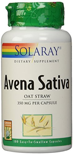 Solaray Avena Sativa, 350 mg, 100 Count