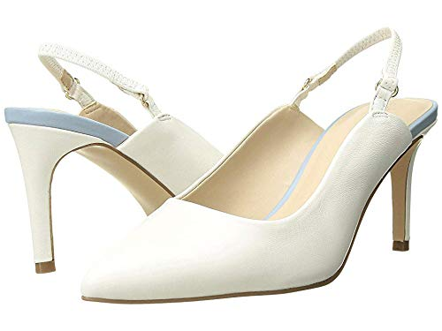 Cupcakes and Cashmere Women's Gemmalyn Pump White 8