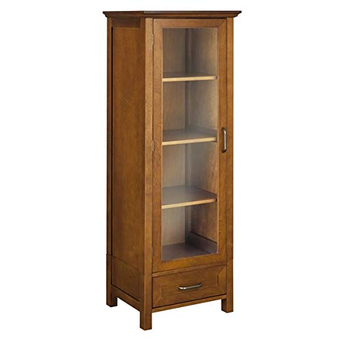 - Wood Storage Cabinet with Framed Panels - 48.5
