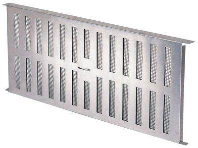 Air Vent FA109000 Stamped Aluminum Foundation Vent - Quantity 12