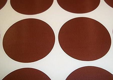 Dorado - Etiqueta Adhesiva Redonda de C/ódigo de Color Liso para Precio Audioprint Ltd. Paquete de 60 Unidades 38 mm