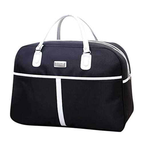 - DDKK bags Zipper Large Capacity Luggage Bag for Mne & Women-Travel Carry On for Sports Germ Duffels Bags Overnight