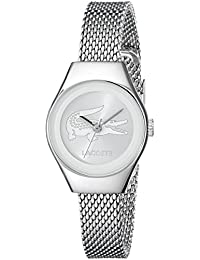 Womens 2000877 Valencia Mini Silver-Tone Stainless Steel Watch