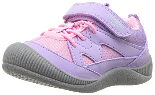 Price comparison product image OshKosh B'Gosh Girls' Megara Protective Bumptoe Sneaker,  Purple,  8 M US Toddler