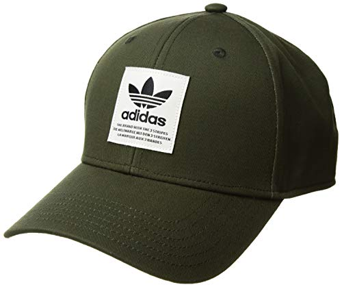 4cd867e492af0 adidas Men's Originals TL Patch Snapback Cap, Night Cargo/Off White/Black,  One Size