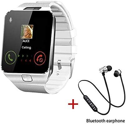 MINSINNY Reloj Inteligente Bluetooth Smart Watch Smartwatch TF SIM ...