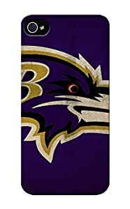 Graceyou Protection Case For Iphone ipod touch4 / Case Cover For Christmas Day Gift(baltimore Ravens)