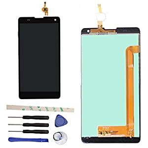 "Draxlgon LCD Display Touch Screen Digitizer Assembly For BLU Neo XL N110 N110L N110U 6.0"" (black)"