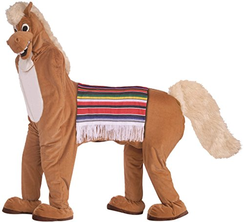 Forum Novelties Men's Horse Mascot 2 Costume Funny Comical Animal Pony Halloween One Size Fits Most Brown by Forum Novelties
