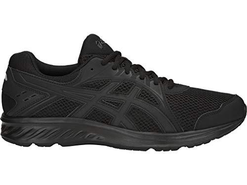 ASICS Men's Jolt 2 (4E) Running Shoes, 10.5XW, Black/Dark Grey