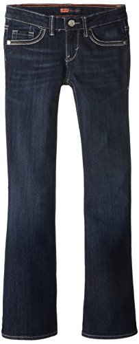 Levi's Girl's 7-16 Taylor Thick Stitch Bootcut, Tailored Indigo, 16 by Levi's