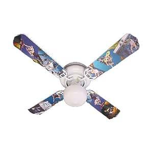 """Ceiling Fan Designers Ceiling Fan, Radical Skateboards, 42"""""""