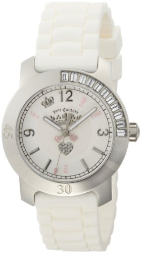 (Juicy Couture Women's 1900548 BFF White Jelly Strap)