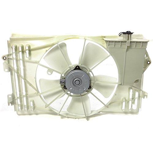 (CarPartsDepot 2003-2008 Toyota Corolla LE Cooling Fan Reservoir TO3115125 Matrix XR Vibe wo GT)