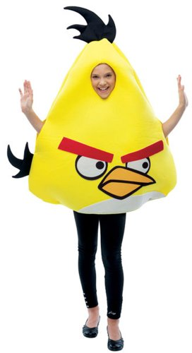 Child Angry Bird Costume (Angry Birds Yellow Bird)