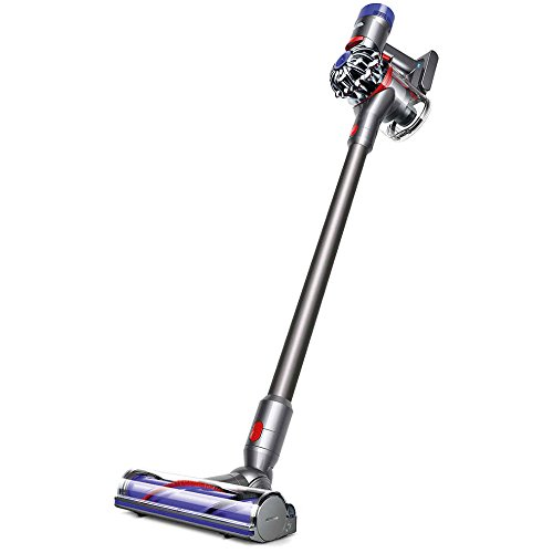 Dyson V7 Animal Cordless HEPA Vacuum Cleaner + Direct Drive Cleaner Head + Wand Set + Mini Motorized Tool + Dusting Brush + Docking Station + Combination Tool + Crevice Tool by Dyson