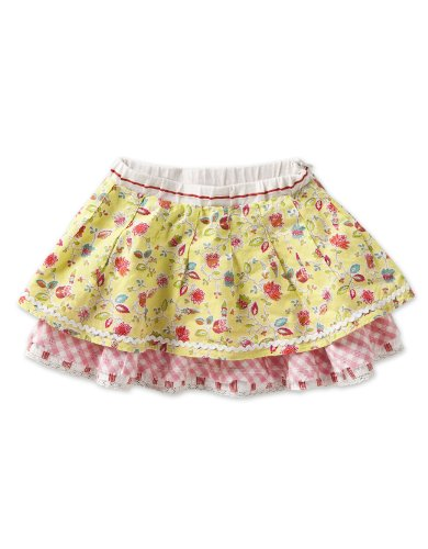 Oilily Baby Girls' Sylvi  Skirt, Green Dunga, 18 Months
