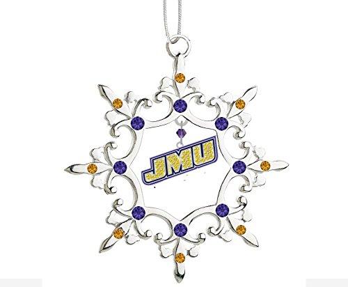 Final Touch Gifts James Madison University JMU Snowflake Christmas -