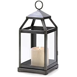 15 Wholesale Rustic Silver Contemporary Candle Lantern Wedding Centerpieces