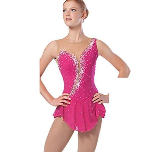 Femme Exercice Wg Artistique Patinage Gw new V¨ºtements Anatomique Sans Design Air Hautsrobe De Robe Fille Plein Tenue Manches XYqaFddw