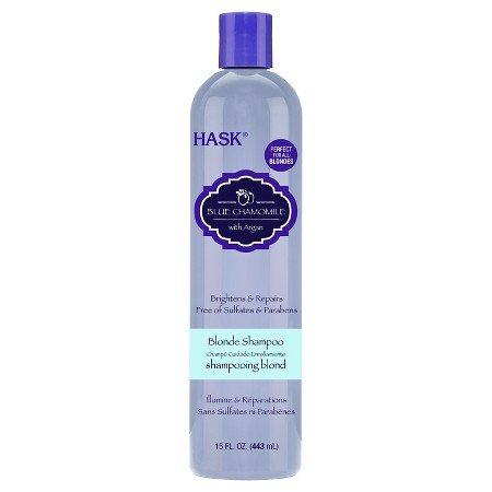 Hask Blue Chamomile with Argan Blonde Shampoo 15 oz