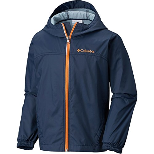 Columbia Little Boy's Glennaker Rain Jacket, Collegiate Navy, XXS
