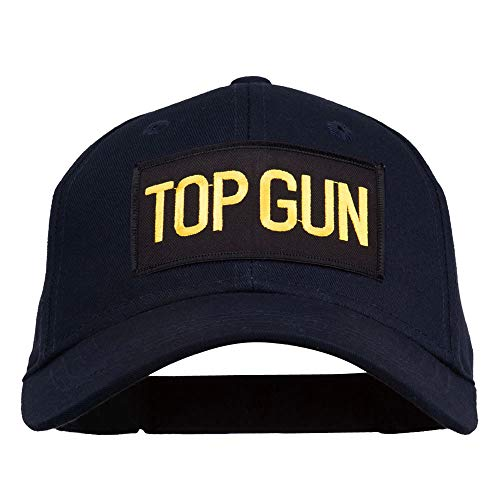 E4hats Top Gun Gold Patched Youth Cap - Navy OSFM
