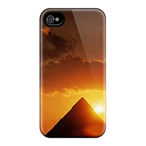 Awesome Pyramid Sun Flip Cases With Fashion Design For Iphone 6