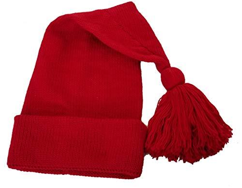 Voyageur Red Toque Hat Cap Etchiboy Historical Alpaca Wool