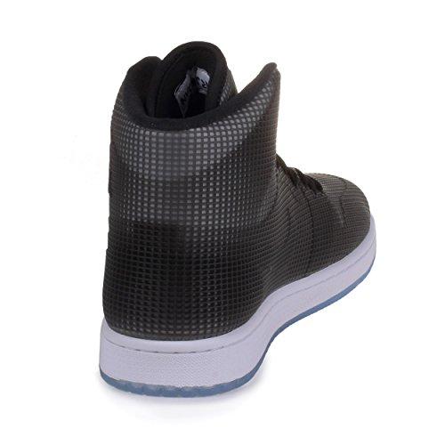 nike air jordan 4LAB1 para hombre hi de pelota de baloncesto zapatillas de costura para camisetas de mujer 677690 zapatos de zapatillas con cachorros de Black/Reflect Silver-white