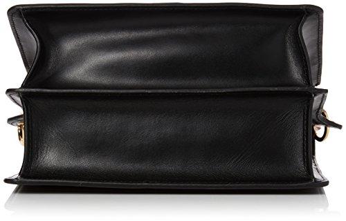 Coccinelle - Ambrine, Shoppers y bolsos de hombro Mujer, Black (Noir), 12x16x22 cm (W x H L)