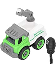 Crane Vehicle Toy, Safe Building Engineering Car Toy, Portable Non-Toxic Plastic Durable for Playing Above 3 Years Old