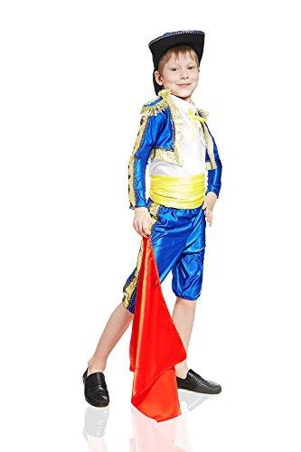 4fd6d80ce Kids Boys Spanish Matador Costume Bullfighter Suit Torero Outfit Toreador  Dress Up