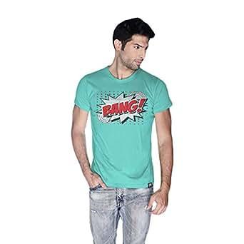 Creo Bang Retro T-Shirt For Men - Xl, Green