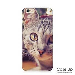 """Cute Lovely Kitten Cat Snap On Hard Phone Skin Cover Case for iPhone 6 and 6S (4.7"""") - CUI6C079"""
