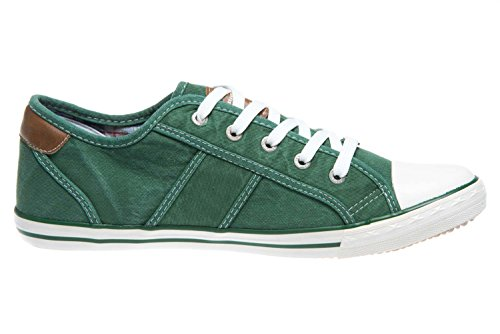 Mustang Zapatillas 302 Verde 7 Mujer 1099 PqPZpwr